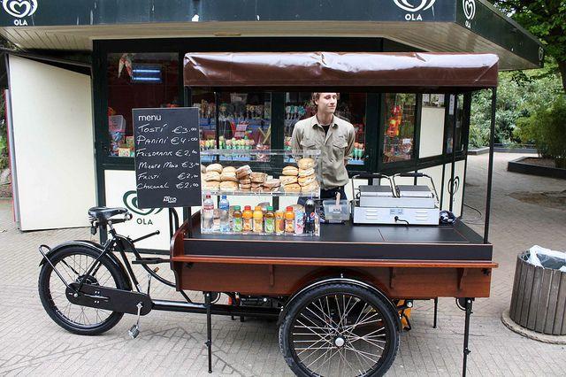 Tosti fiets amsterdam