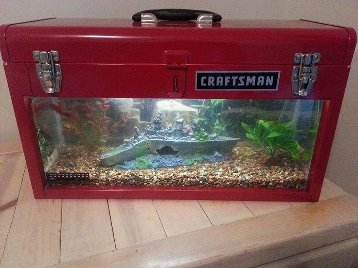 Best 25 unique fish tanks ideas on pinterest fish tanks for Fish tank rock cleaner