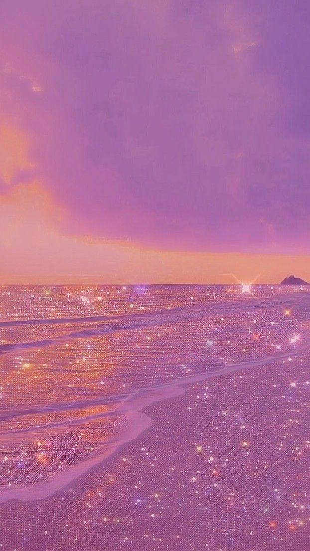 Sea Glitter Pink Wallpaper Backgrounds Aesthetic Wallpapers Aesthetic Pastel Wallpaper
