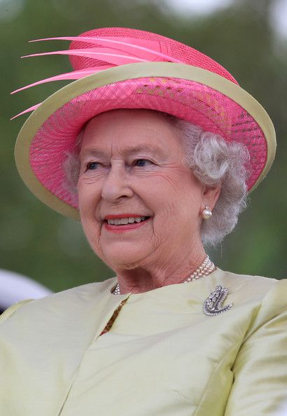 Queen Elizabeth II attends the first Canadian concert for Human Rights on July 3, 2010 in Winnipeg, Canada