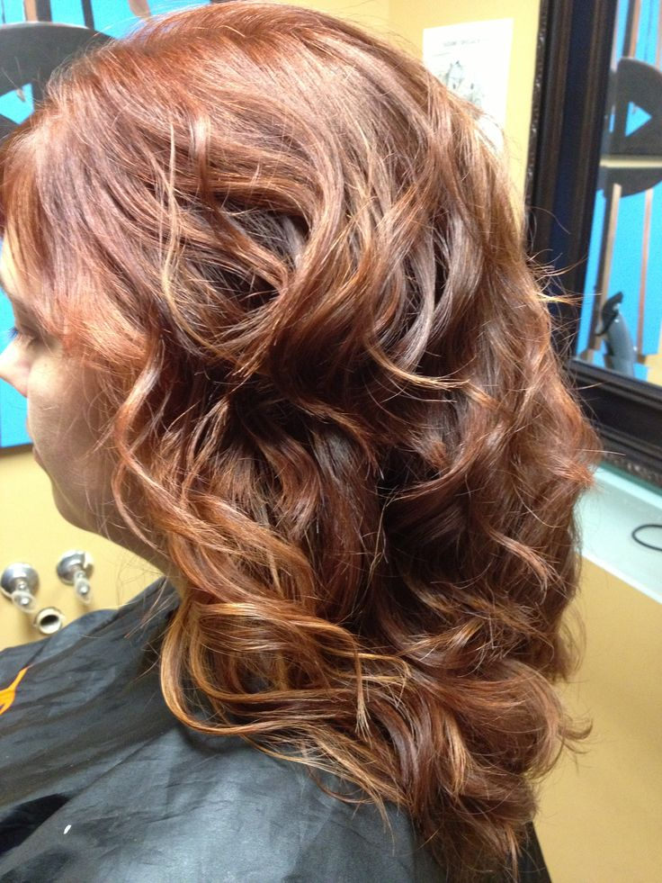 Warm colour and curls