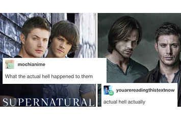 """18 Times Tumblr Proved That """"Supernatural"""" Is The Most Amazing TV Show Ever"""