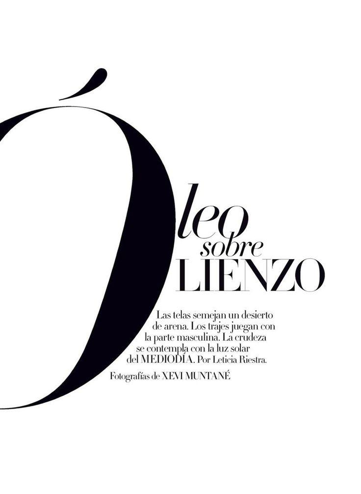OLEO SOBRE LIENZO (Harpers Bazaar Spain)
