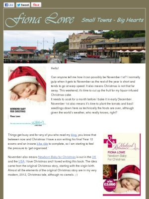 The newsletter all about it!