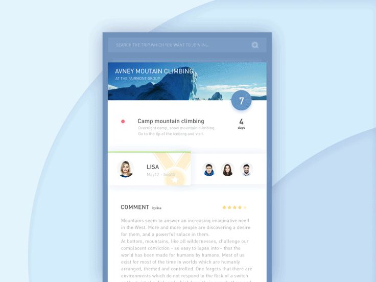 Animation - Concept info detail interface by Leo Leung