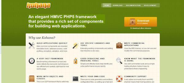Kohana #Framework - Via http://www.themangomedia.com/blog/what-is-php-and-15-best-php-frameworks/ @teammangomedia