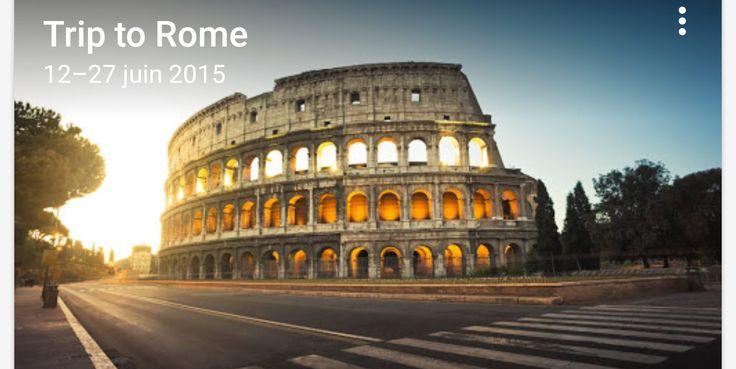 Google Trips - Rome Travel Voyage
