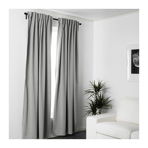 MAJGULL Block-out curtains, 1 pair  - IKEA