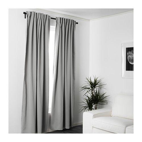 MAJGULL Block-out curtains, 1 pair  - IKEA
