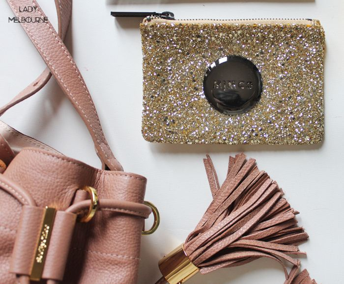 Mimco gold, glitter coin purse | more on www.ladymelbourne.com.au