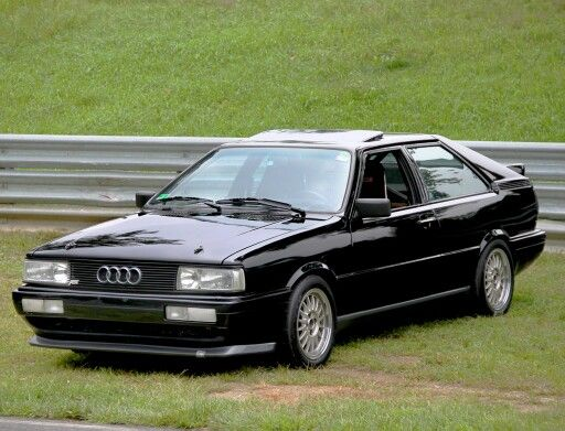 85 Audi Coupe Gt turbocharged. Loved this car.