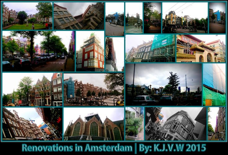 https://flic.kr/p/wAegoN | Renovations in Amsterdam | When I was there last, I noticed many of them. so I decided to make this.