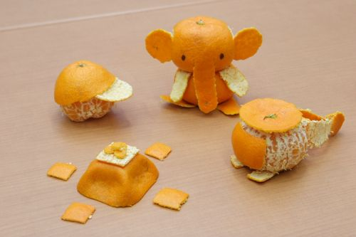 How to peel an orange: Is mikan art the new origami?   RocketNews24