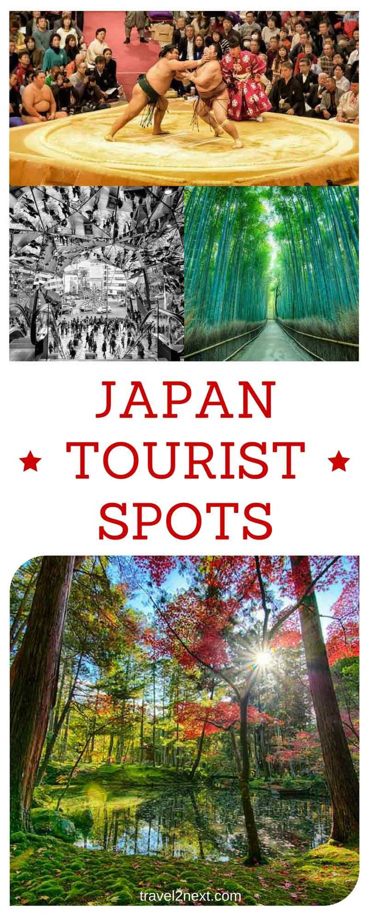 Japan Tourist Spots in Photos. Japan is a country where ancient meets modern.