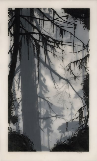 In my obsession with clean vector graphics its refreshing to see a handcrafted delicate piece like this.     Shane Salzwedel