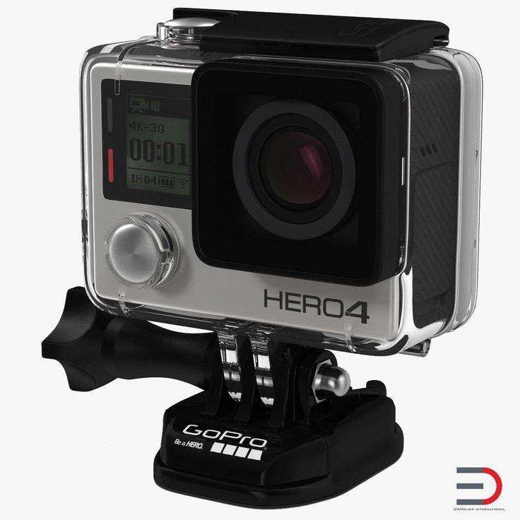 GoPro HERO4 3d model