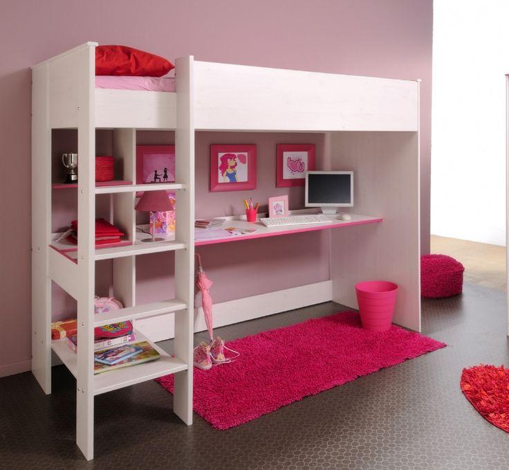 Hochbett Woozy Rosa #hochbett #kinder #rosa