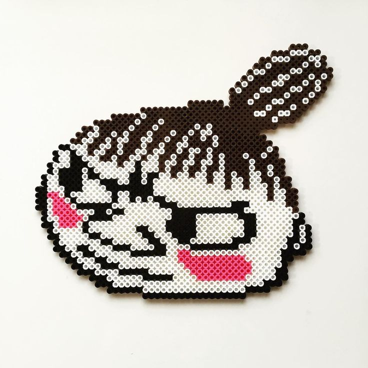 Little My - Moomin perler beads by yumy1130