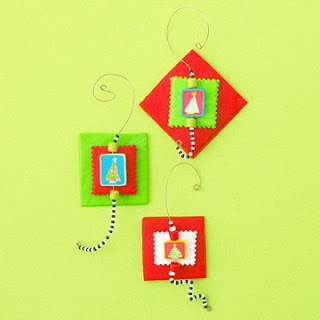 Tons of Christmas crafts for kids