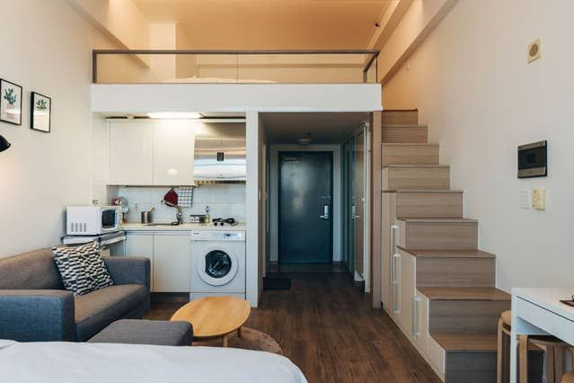 Just Seoul Stn Relax Cozy Place Lofts For Rent In 서울특별시 Korean Apartment Interior Lofts For Rent Small Loft Apartments
