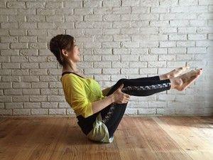 腰椎を動かして代謝アップ!