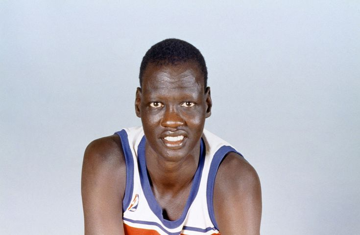 Manute Bol retired from basketball in 1995 at the age of 32, or so we've been led to believe.