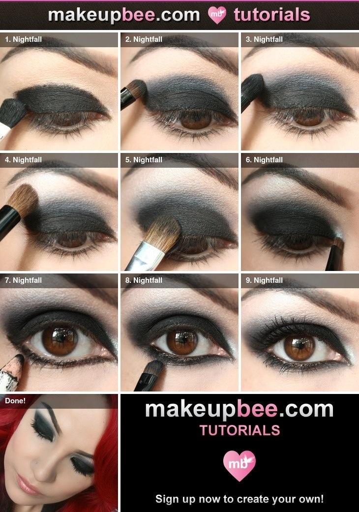 Pretty makeup!