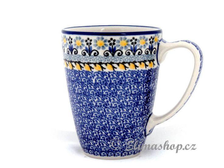 Mug 0,35 l (12 oz) - *** ELIMAshop.cz ***  Handmade Polish Pottery from Boleslawiec . Bunzlauer keramik . ceramics . stoneware . ELIMAshop.cz , shipping worlwide . Artystyczna .