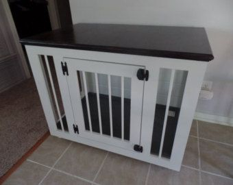 Dog House indoor / Dog crate by WildManor on Etsy