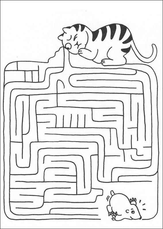 Jeu du labyrinthe à imprimer                                                                                                                                                                                 Plus
