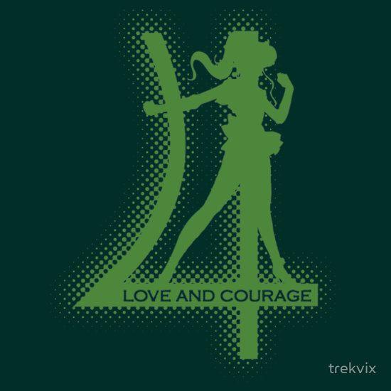 Sailor Jupiter symbol-LOVE AND COURAGE