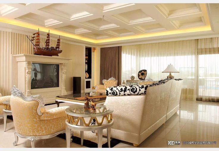 低調奢華_古典風設計個案—100裝潢網