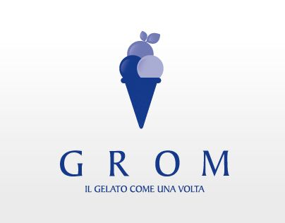 "Check out new work on my @Behance portfolio: ""GROM branding"" http://on.be.net/1E4JWzu"