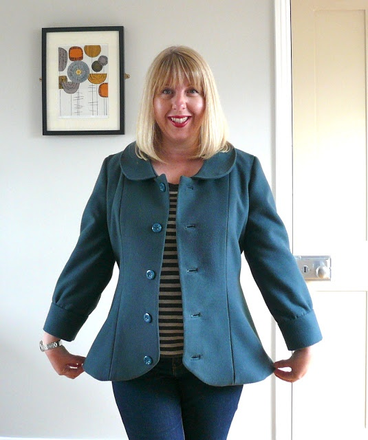 The Abbey Coat, view B by Handmade Jane