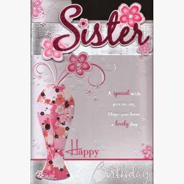 Happy Birthday Wishes Sister with Cake 25855wall.JPG ...