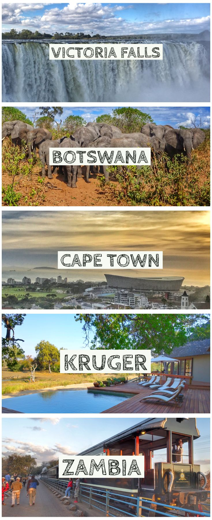 Southern Africa Travel and Guide through South Africa's Cape Town, Kruger, Vic…