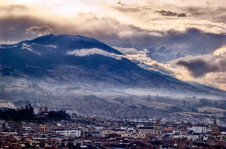 Pasto, Colombia y el volcan Galeras