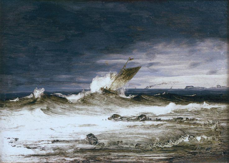 Peder Balke - Seascape (1860)