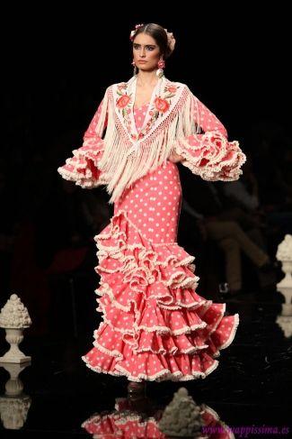 Traje de Flamenca - Pilar-Vera - Simof-2015