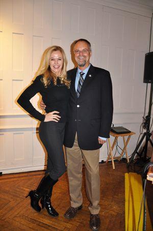 Greta Blackburn and Dr. Bill Andrew