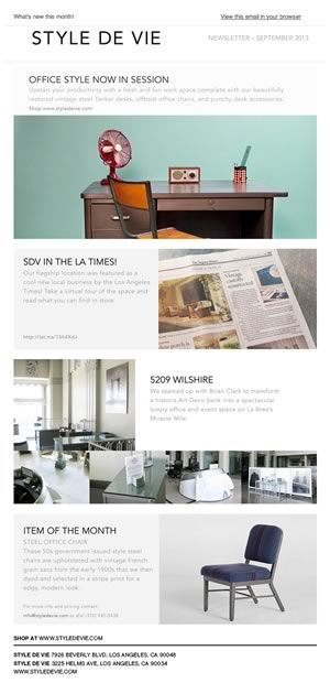1000 images about newsletter ideas on pinterest for Beautiful newsletter design