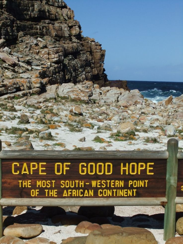 The cape of good hope is an extremely scenic place for a picnic!