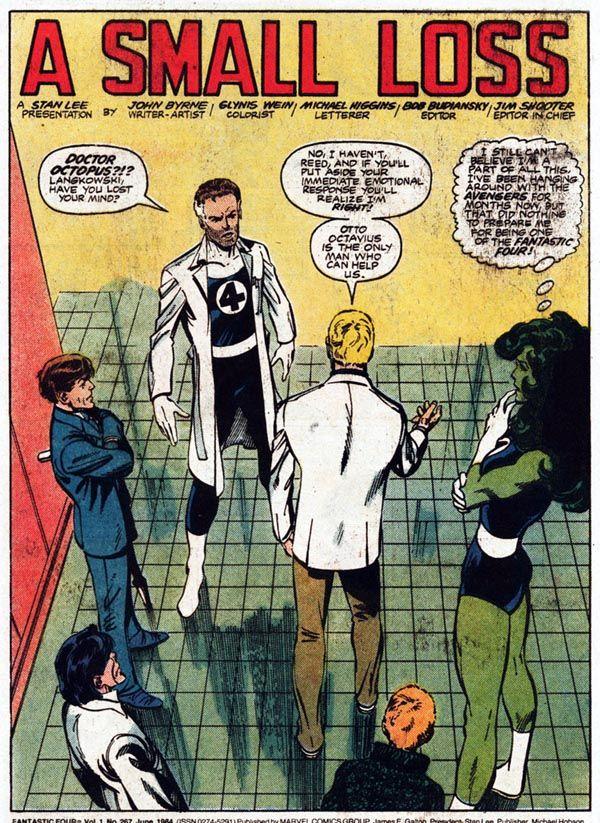 Byrne Robotics: JBF Reading Club: Fantastic Four #267