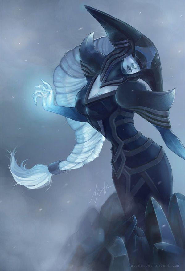 League of Legends - Lissandra by rauine.deviantart.com on ...