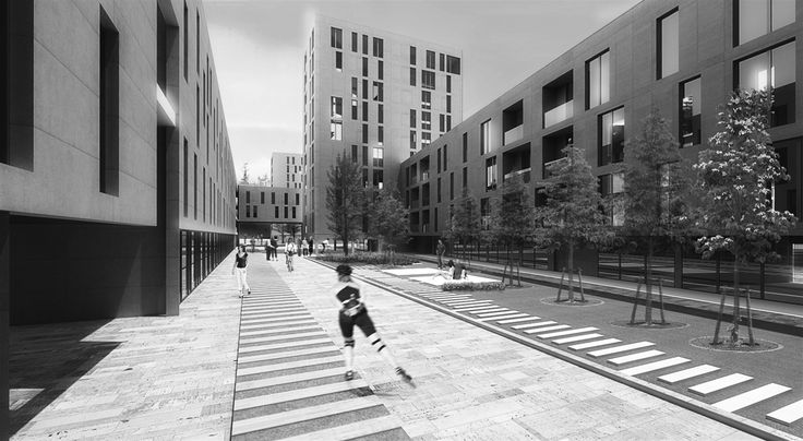 OPERASTUDIO - Competition - Social housing - #AAA architetti cercasi #Milan #view