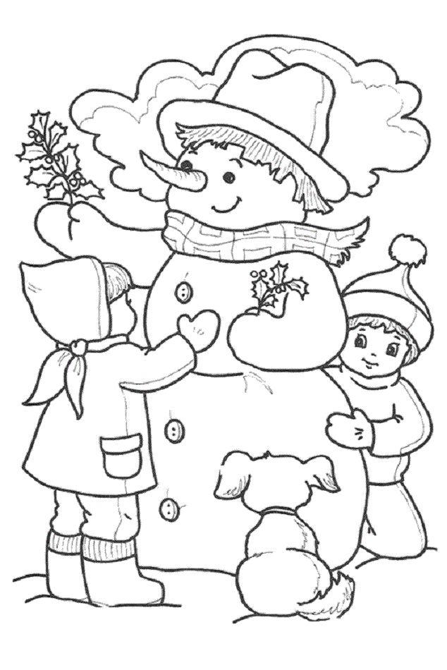 25 best Dibujos para colorear de invierno images on Pinterest ...