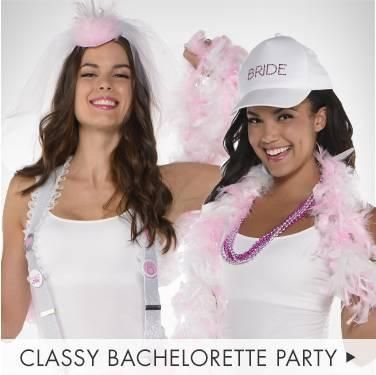 Get The Girls Suited Up For A Night Of Fun In Classy Accessories From Bride Bachelorette Party