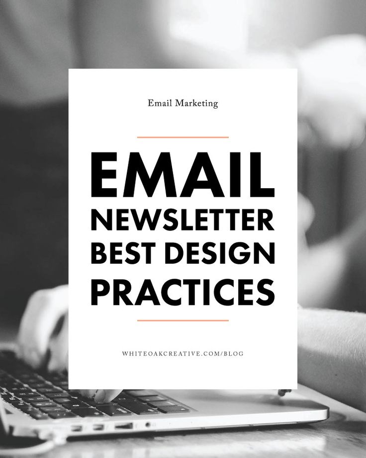 How to style your email newsletters, seamless extension of your brand
