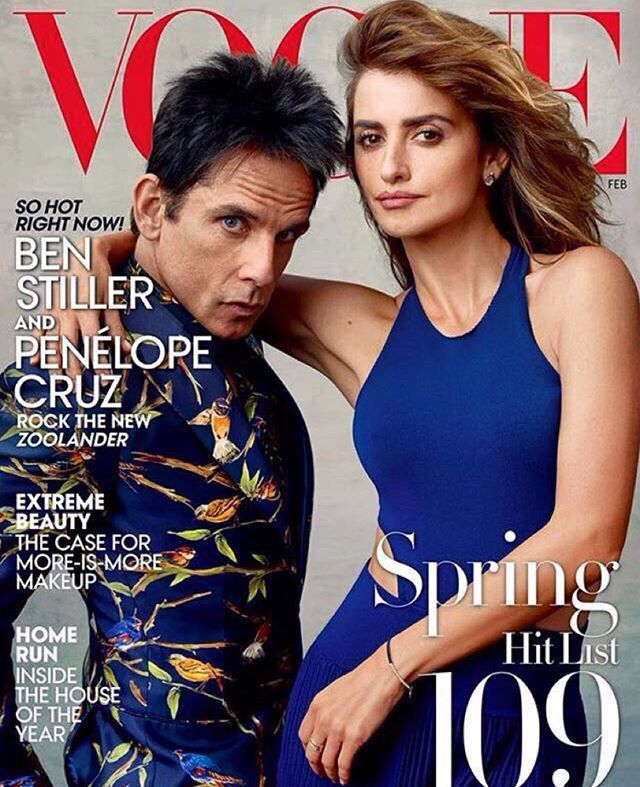 #BenStiller and his legendary Blue Steel on his first ever cover of @voguemagazine wearing @dolcegabbana❤️❤️❤️❤️❤️❤️ #DGGENTLEMEN