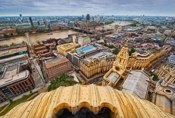 from the top of st. paul's...still on my London bucket list